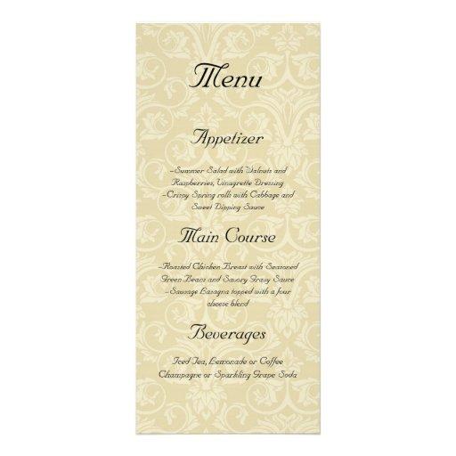 Golden Rings with Cross, Elegant Christian Love Rack Cards