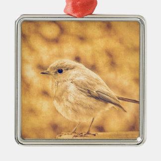 Golden Robin Christmas Ornament