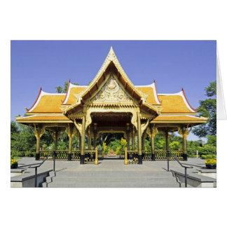 Golden Roof Pavilion Thailand Card