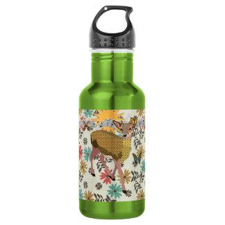 Golden Rose Deer Liberty Bottle 532 Ml Water Bottle