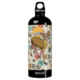 Golden Rose Deer Liberty Bottle SIGG Traveller 1.0L Water Bottle