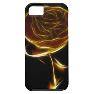 Golden Rose Designed with Vector Software iPhone 5 Case