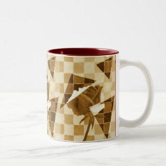 Golden Rose Two-Tone Mug