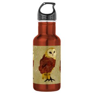 Golden Ruby Owl Liberty Bottle 532 Ml Water Bottle