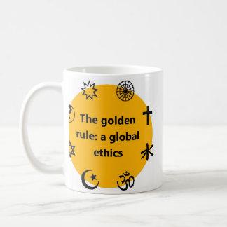 Golden rule coffee mug