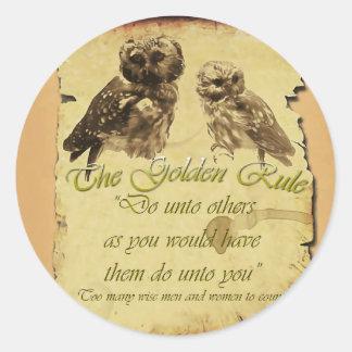 Golden Rule Sticker