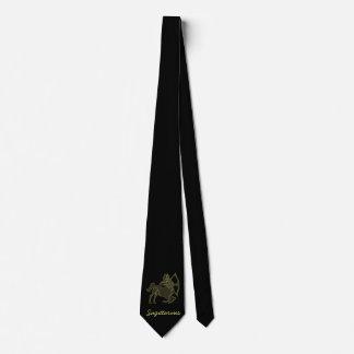Golden Sagittarius Tie