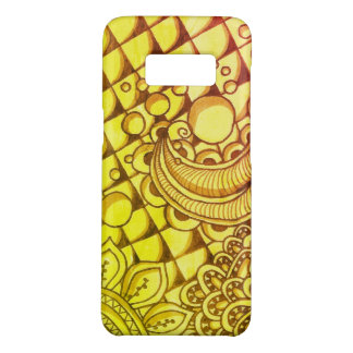 Golden Samsung Galaxy S8, Barely There Phone Case