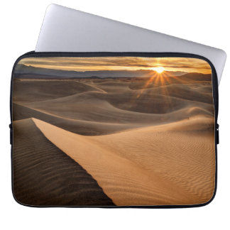 Golden Sand dunes, Death Valley, CA Laptop Sleeves