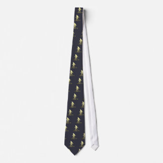 Golden Sasquatch Tie
