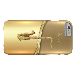Golden Saxophone Background iPhone 6/6s Case