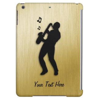 Golden Saxophone Player