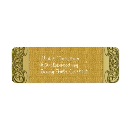 Golden Scrolls 50th Wedding Anniversary
