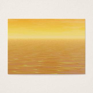 Golden Sea Business Card