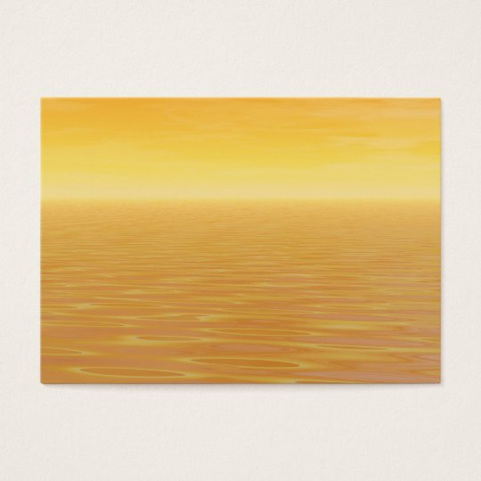 Golden Sea Business Card