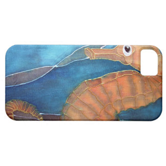 Golden Seahorse iPhone 5 Cases
