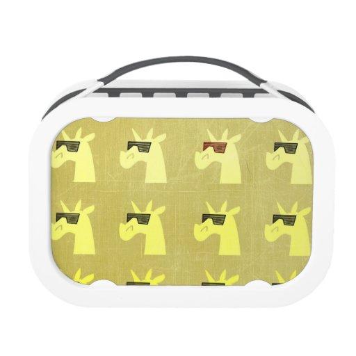 Golden Shades of Unicorn Lunchbox