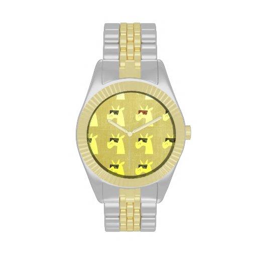 Golden Shades of Unicorn Watch