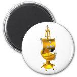 golden ship magnets