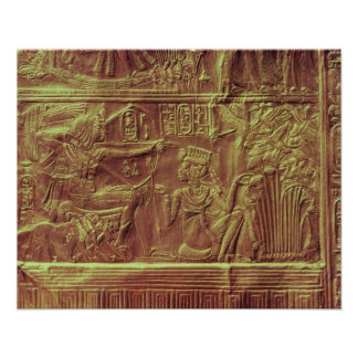 Golden shrine, Tutankhamun's Treasure Poster