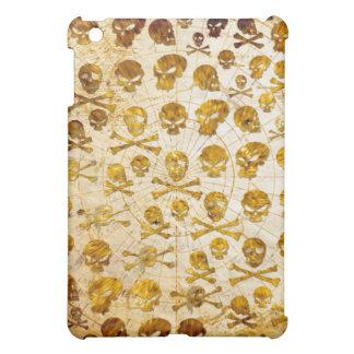 Golden skulls pirate  iPad mini cases