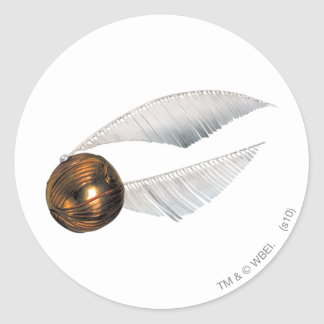 Golden Snitch Round Sticker