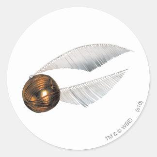 Golden Snitch Round Sticker
