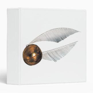 Golden Snitch Vinyl Binder