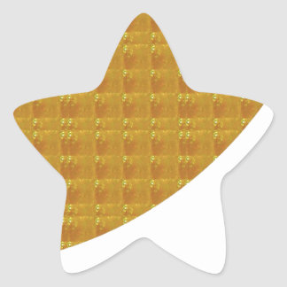 Golden Sparkle JEWEL Foil - GOODLUCK lowprice Sticker