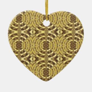Golden Sparkle JEWEL Print Ornament