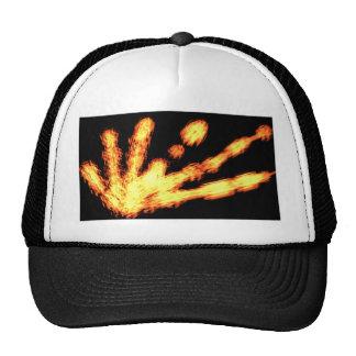 GOLDEN SPARKLES MESH HATS