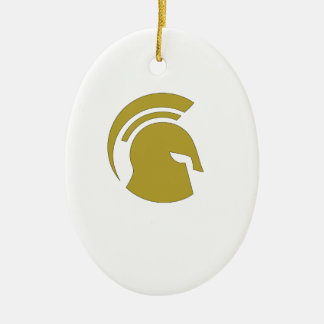 Golden Spartan Rob Donker Personal Training Christmas Ornament