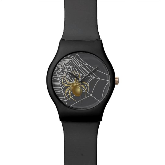 Golden Spider Watch