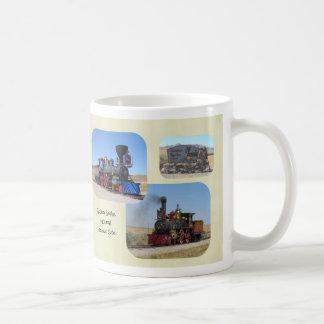 Golden Spike National Monument Basic White Mug