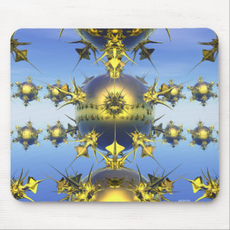 Golden Spikes Mouse Pad