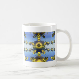 Golden Spikes Classic White Coffee Mug
