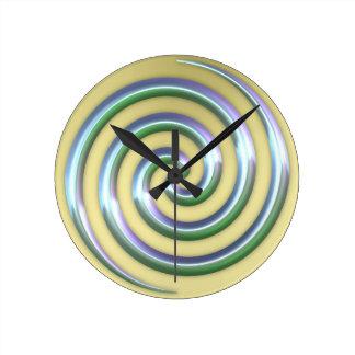 Golden Spiral Clock