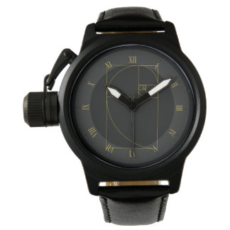 Golden Spiral Sacred Geometry Watches