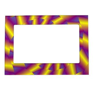 Golden Spring Spiral Magnetic Picture Frame
