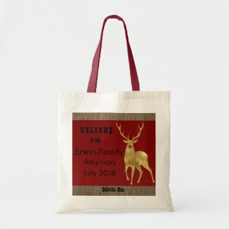 Golden Stag Family Reunion Tote Bag
