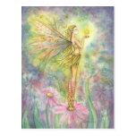 Golden Star Fairy Postcard
