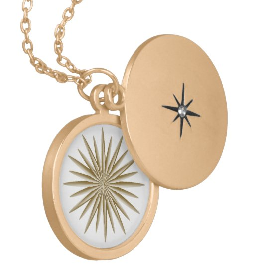 Golden Star Locket