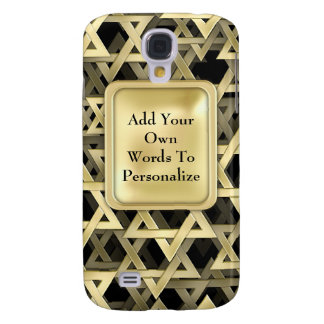 Golden Star Of David Galaxy S4 Cover