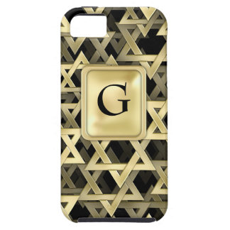 Golden Star Of David Case For The iPhone 5