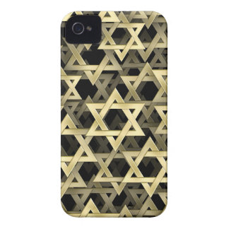Golden Star Of David iPhone 4 Cover