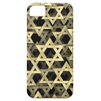 Golden Star Of David iPhone 5 Cases