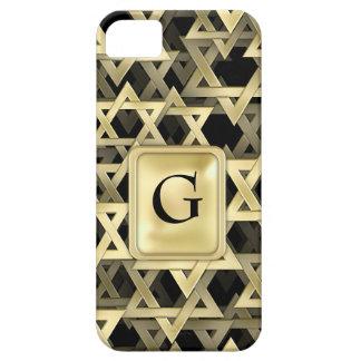 Golden Star Of David iPhone 5 Cases