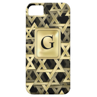 Golden Star Of David iPhone 5 Covers