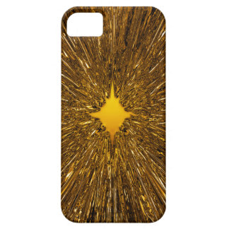 Golden starburst barely there iPhone 5 case
