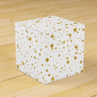 Golden Stars2 -Pure White- Favour Box